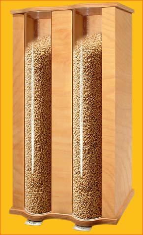 Komo Zweikammer Getreidespeicher