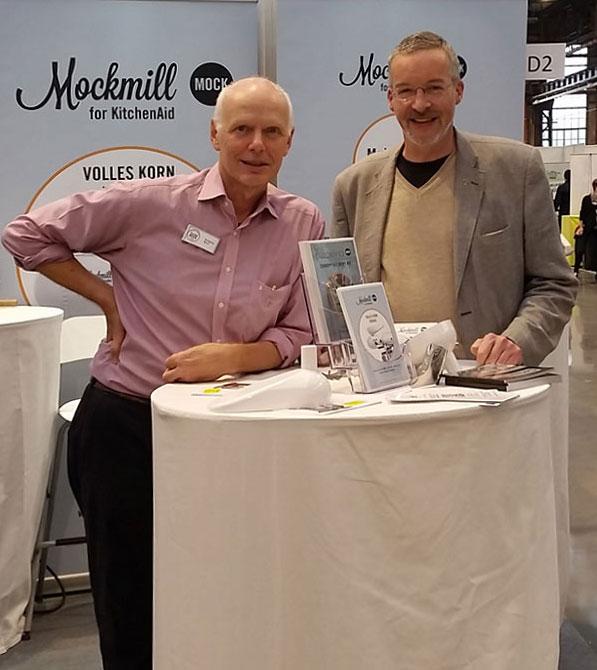 Wolfgang Mock und Thomas Wälter (Veggie World Messe 2015)