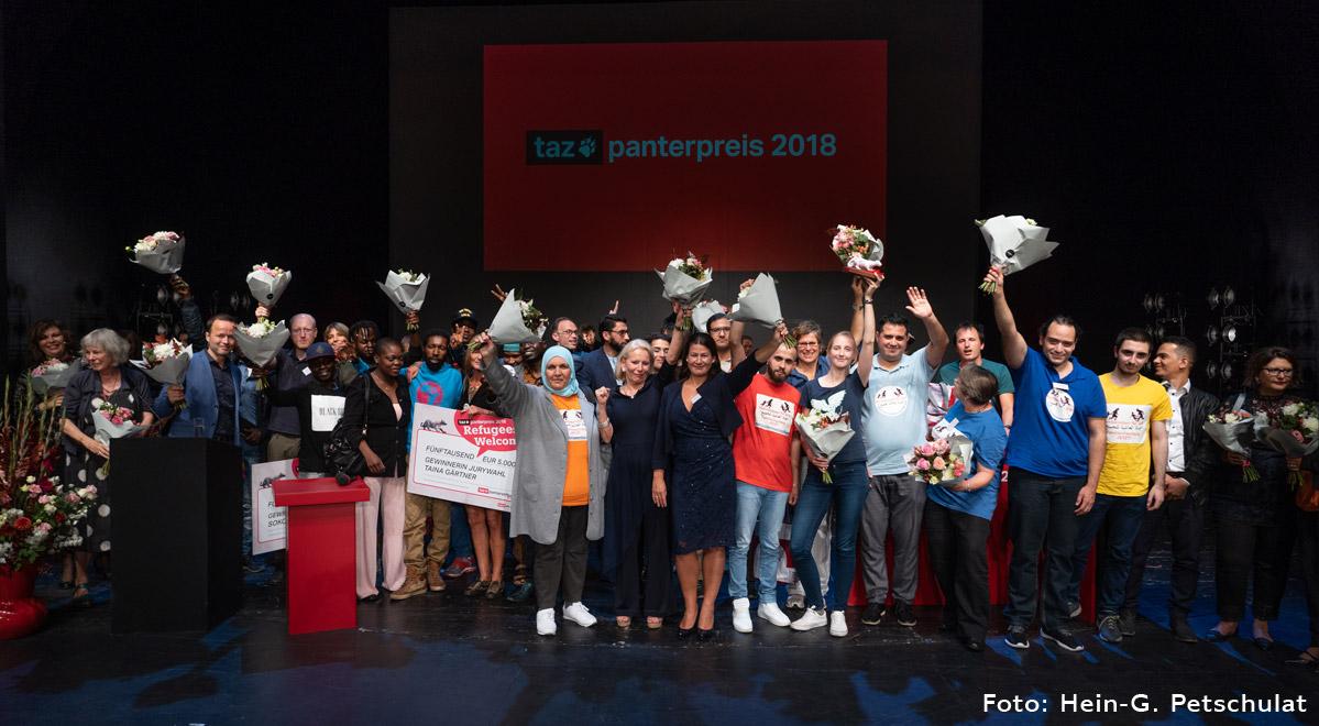 taz Panter Preis - alle Nominierten