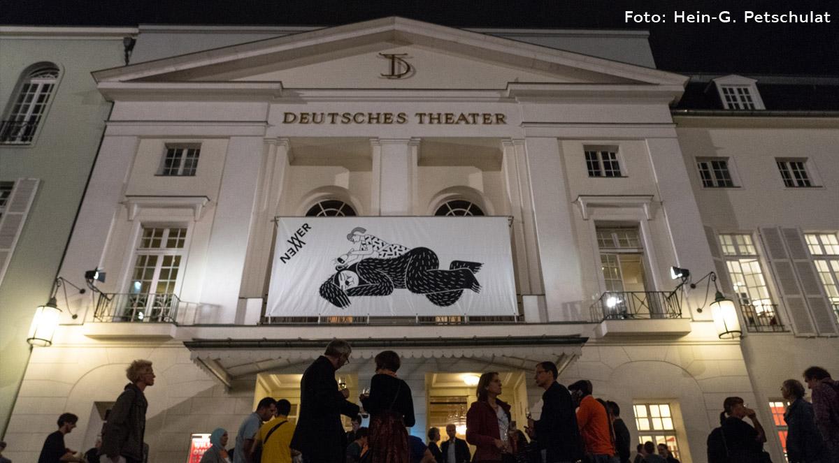 taz Panter Preis Deutsches Theater
