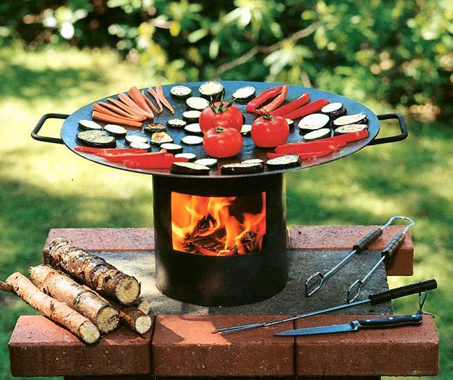 feuerwok gesundes grillen grips grill. Black Bedroom Furniture Sets. Home Design Ideas